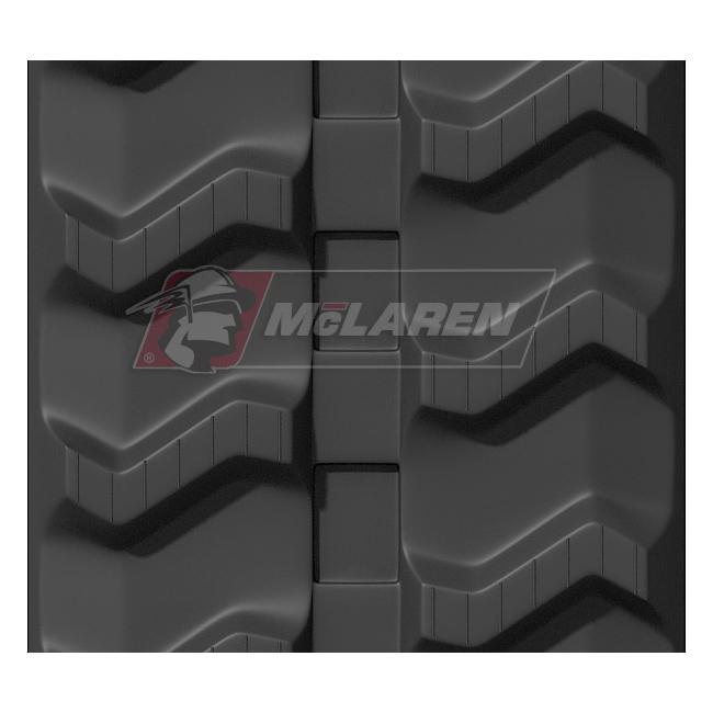 Maximizer rubber tracks for Yanmar MCG 111 F