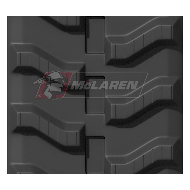 Maximizer rubber tracks for Hinowa 14.7