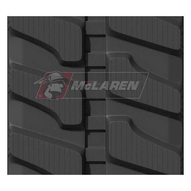 Maximizer rubber tracks for Komatsu PC 50-2