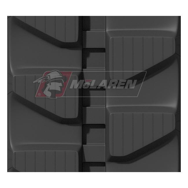 Maximizer rubber tracks for Komatsu PC 16 R-3 HS