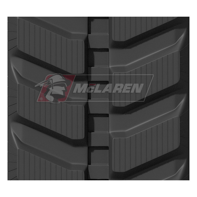 Maximizer rubber tracks for Komatsu PC 75 MR-6