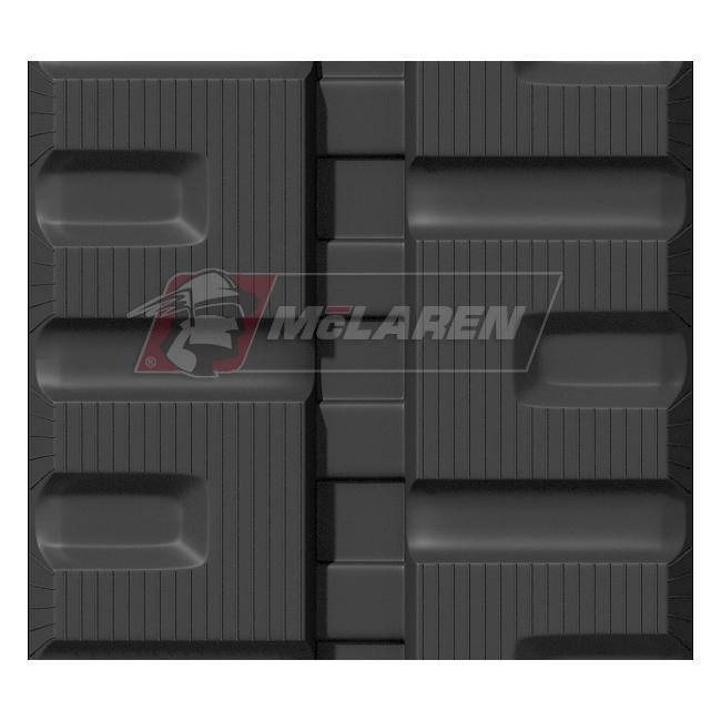 Maximizer rubber tracks for Takeuchi TL140