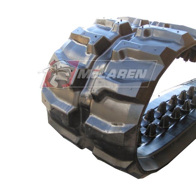 Next Generation rubber tracks for Komatsu PC 15 MR
