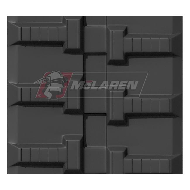 Maximizer rubber tracks for Hinowa 12.65