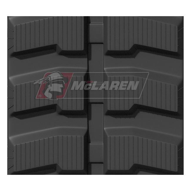 Maximizer rubber tracks for Case CX 40 BMC