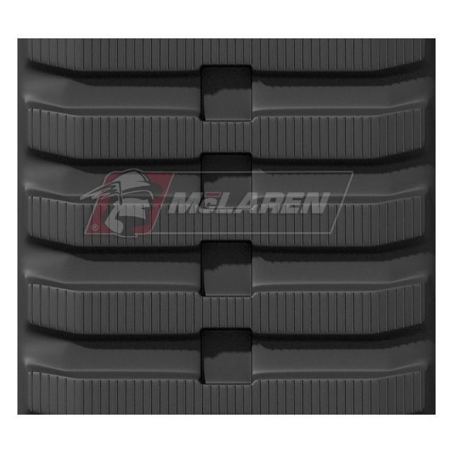 Maximizer rubber tracks for Komatsu MST 600