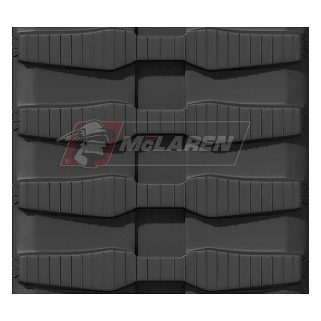 Maximizer rubber tracks for Komatsu CD 23