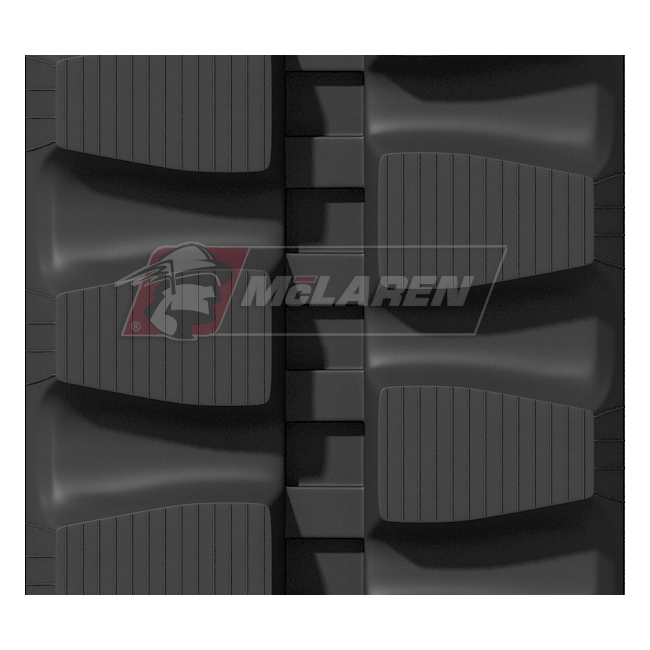 Maximizer rubber tracks for Komatsu PC 12 R-7 UU