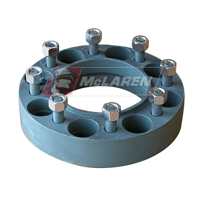 Wheel Spacers for Case 40XT