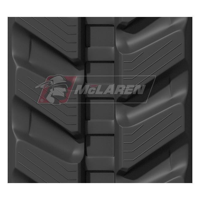 Next Generation rubber tracks for Kubota KX 040-4