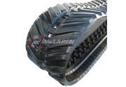 Next Generation rubber tracks for Yanmar B 08