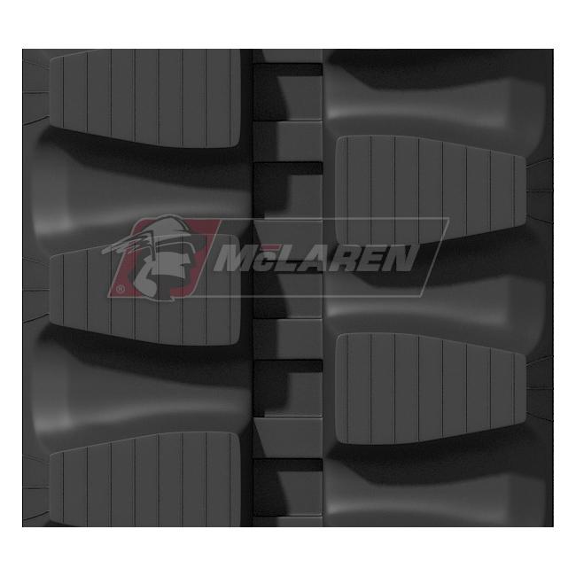 Maximizer rubber tracks for Kobelco SK 80 MSR