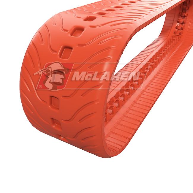 NextGen Turf Non-Marking rubber tracks for Komatsu CK 20