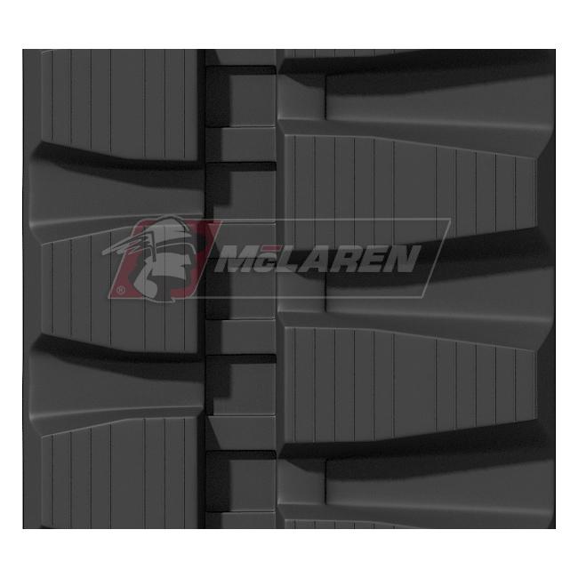 Maximizer rubber tracks for Hitachi EX 30 U