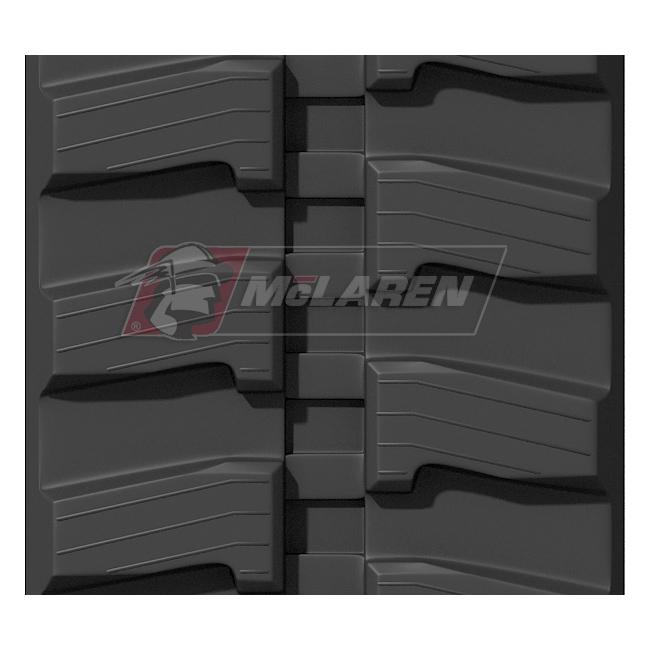 Next Generation rubber tracks for Imer 35 JX