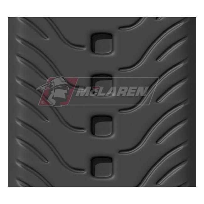 NextGen Turf rubber tracks for Wacker neuson ST 35
