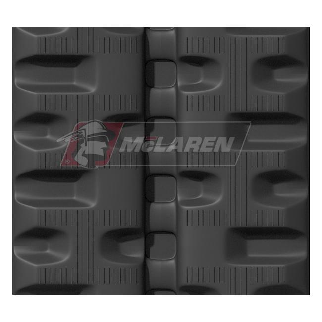 Next Generation rubber tracks for Wacker neuson ST 35