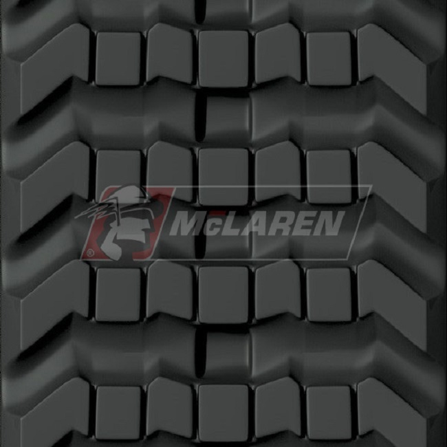 Next Generation rubber tracks for Jcb 300 T