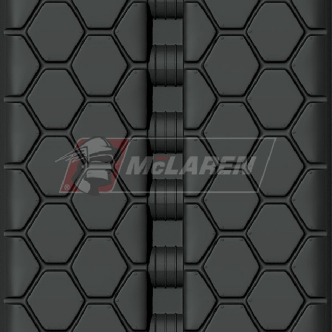 Next Generation rubber tracks for Case 420CT