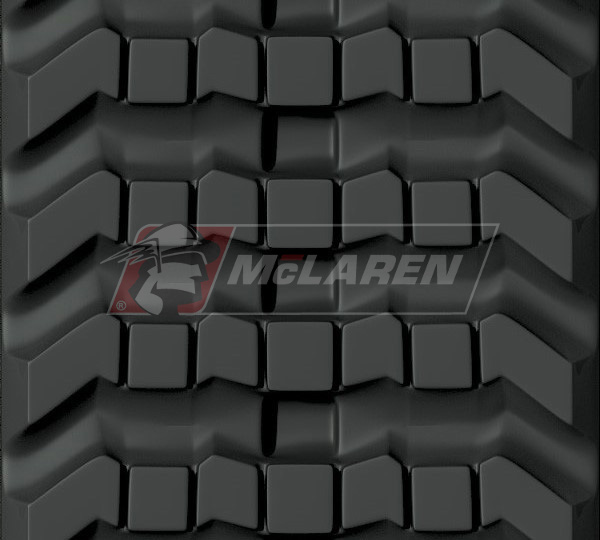 Next Generation rubber tracks for Case 90XT