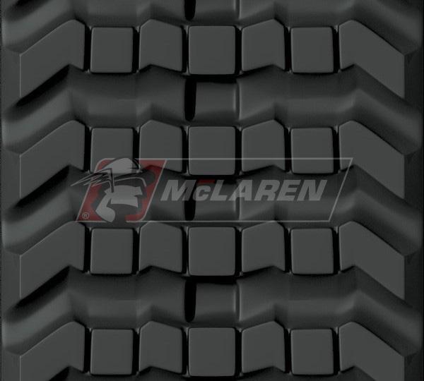 Next Generation rubber tracks for Case 90XT